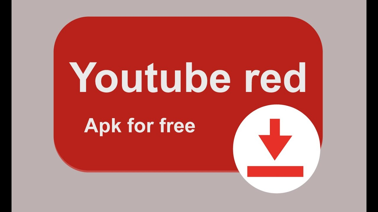 Can you download from youtube red