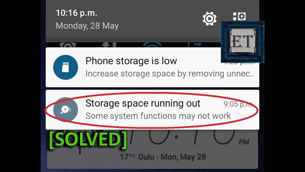 How to clear storage on samsung phone