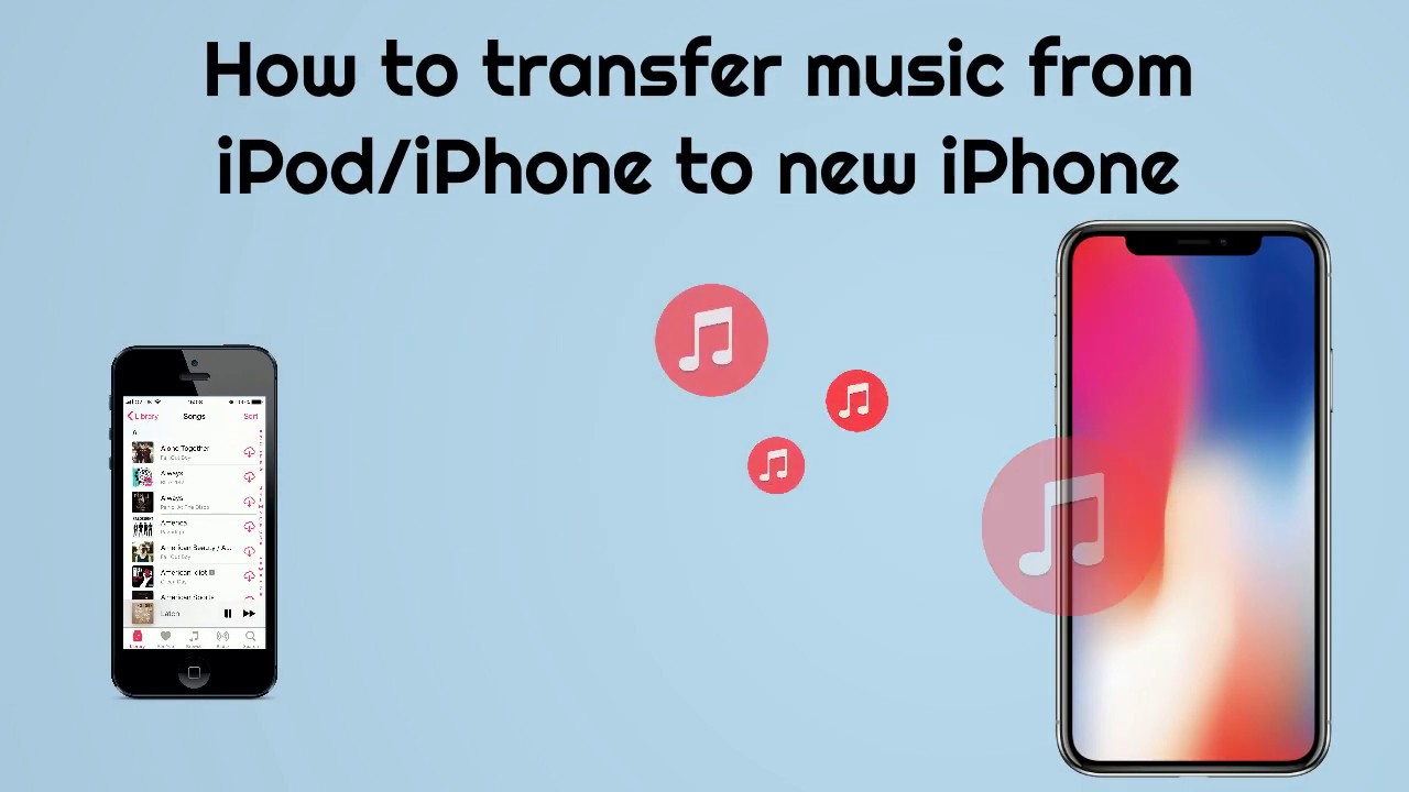 I bought a new ipod how do i transfer music