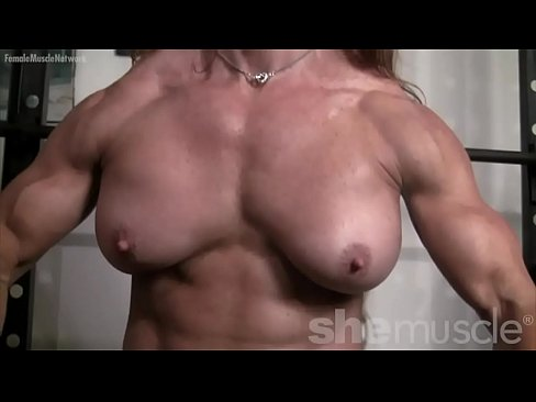 Women with muscles topless