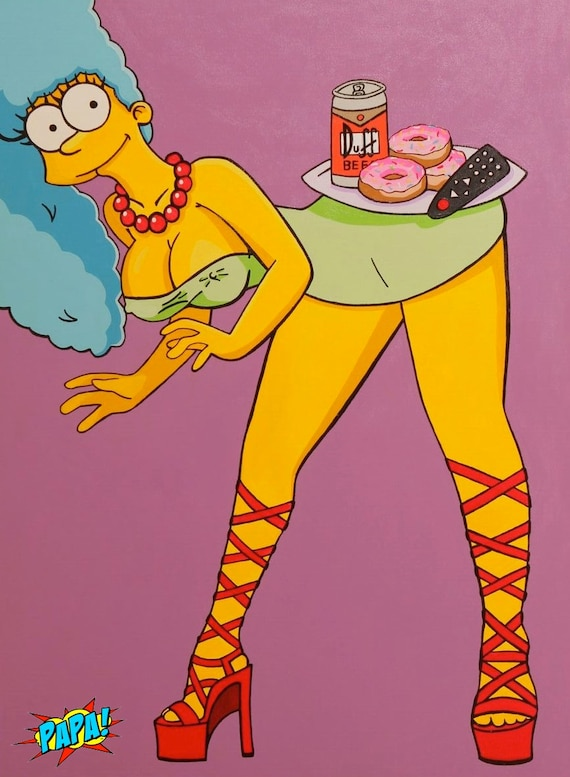 Marge simpson sexys babes astars